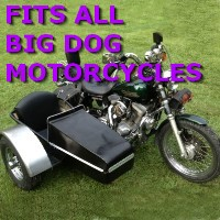 Big Dog Chopper Side Car Motorcycle Sidecar Kit