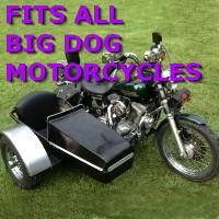 Big Dog Chopper Side Car Motorcycle Sidecar Kit