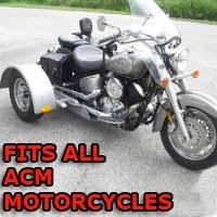 ACM Motorcycle Trike Kit - Fits All Models