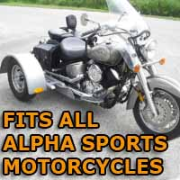 Alpha Motorcycle Trike Kit - Fits All Models