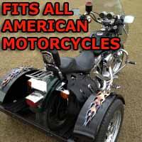 American Motorcycle Trike Kit - Fits All Models
