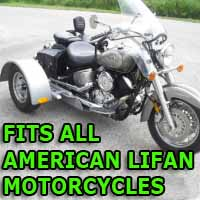 American Lifan Motorcycle Trike Kit - Fits All Models