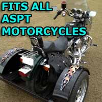 Aspt Motorcycle Trike Kit - Fits All Models