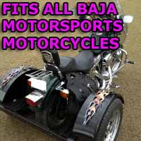Baja Motorcycle Trike Kit - Fits All Models