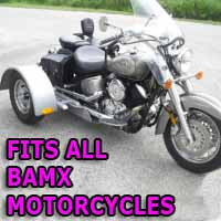 Bamx Motorcycle Trike Kit - Fits All Models