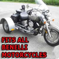 Benelli Motorcycle Trike Kit - Fits All Models