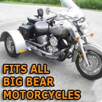 Big Bear Motorcycle Trike Kit - Fits All Models