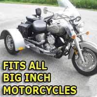 Big Inch Motorcycle Trike Kit - Fits All Models