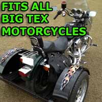 Big Tex Motorcycle Trike Kit - Fits All Models