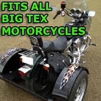 Big Tex Motorcycle Trike Kit - Fits All Models