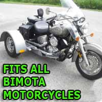Bimota Motorcycle Trike Kit - Fits All Models