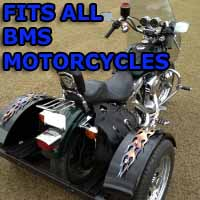 BMS Motorcycle Trike Kit - Fits All Models