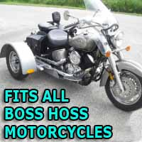 Boss Hoss Motorcycle Trike Kit - Fits All Models