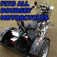 Bourget Motorcycle Trike Kit - Fits All Models