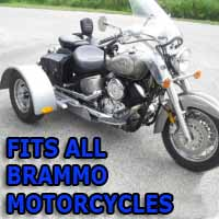 Brammo Motorcycle Trike Kit - Fits All Models