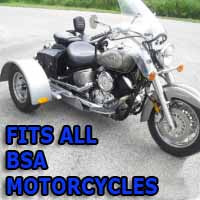 BSA Motorcycle Trike Kit - Fits All Models