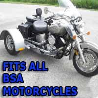 BSA Motorcycle Trike Kit - Fits All Models