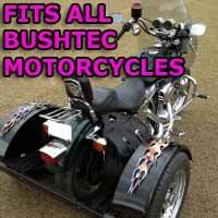 Bushtec Motorcycle Trike Kit - Fits All Models