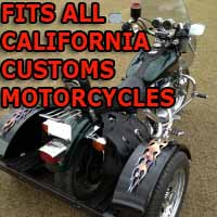 California Customs Motorcycle Trike Kit - Fits All Models