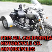 California Motor Co. Motorcycle Trike Kit - Fits All Models