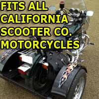 California Scooter Co. Motorcycle Trike Kit - Fits All Models