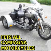 Campagna Motorcycle Trike Kit - Fits All Models