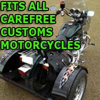 Carefree Customs Motorcycle Trike Kit - Fits All Models