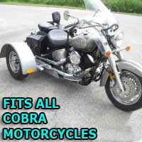 Cobra Motorcycle Trike Kit - Fits All Models