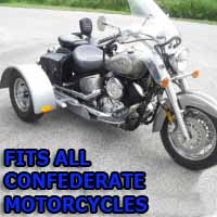 Confederate Motorcycle Trike Kit - Fits All Models