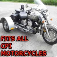 CPI Motorcycle Trike Kit - Fits All Models