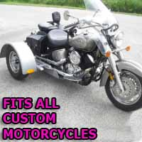 Custom Motorcycle Trike Kit - Fits All Models