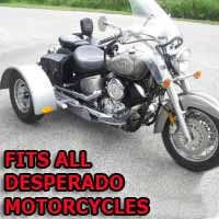 Desperado Motorcycle Trike Kit - Fits All Models