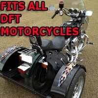 DFT Motorcycle Trike Kit - Fits All Models