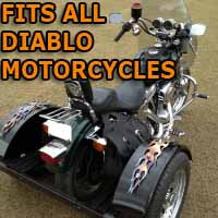 Diablo Motorcycle Trike Kit - Fits All Models