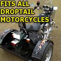 Droptail Motorcycle Trike Kit - Fits All Models