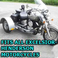 Excelsior-Henderson Motorcycle Trike Kit - Fits All Models