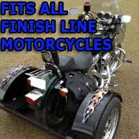 Finish Line Motorcycle Trike Kit - Fits All Models