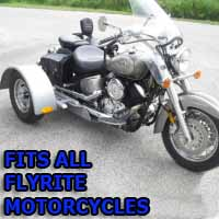 Flyrite Motorcycle Trike Kit - Fits All Models