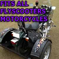 Flyscooters Motorcycle Trike Kit - Fits All Models