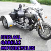 Garelli Motorcycle Trike Kit - Fits All Models
