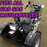 Gas Gas Scooter Motorcycle Trike Kit - Fits All Models