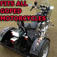 Goped Scooter Motorcycle Trike Kit - Fits All Models