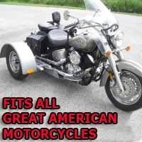 Great American Motorcycle Trike Kit - Fits All Models