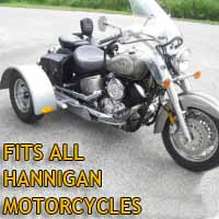 Hannigan Motorcycle Trike Kit - Fits All Models