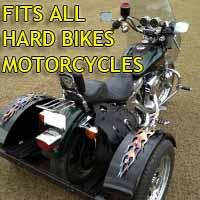 Hard Bikes Motorcycle Trike Kit - Fits All Models