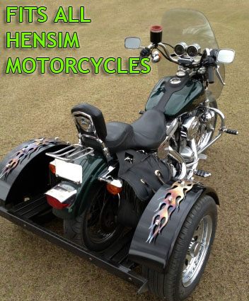 hensim motorcycle trike kit fits all models. Black Bedroom Furniture Sets. Home Design Ideas