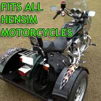 Hensim Motorcycle Trike Kit - Fits All Models