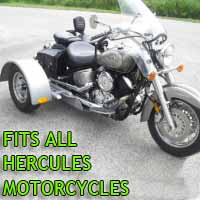 Hercules Motorcycle Trike Kit - Fits All Models