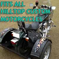 Hilltop Customs Motorcycle Trike Kit - Fits All Models