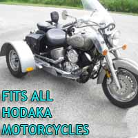 Hodaka Motorcycle Trike Kit - Fits All Models